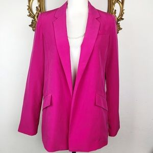 Forever 21 Hot Pink Open Blazer Size M